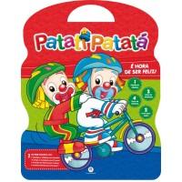 """Kit Maleta Livros Patati Patatá (8 Livros + CD Interativo) """"É HORA DE SER FELIZ"""""""