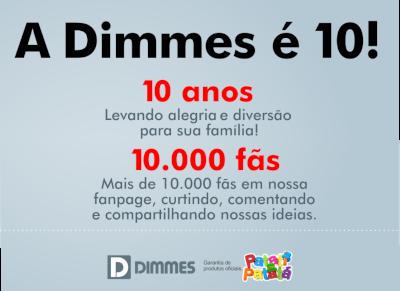 10 anos de Dimmes